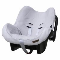 Babys Only Bezug für Babyschale, Classic Silbergrau