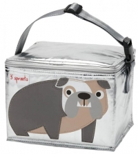 3 Sprouts Lunch Bag, Bulldoge