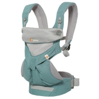 Ergobaby Babytrage 360° 4-Positionen, Cool Air Mesh Icy Mint