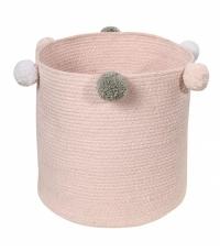 Lorena Canals Aufbewahrungskorb, Bubbly - Pink