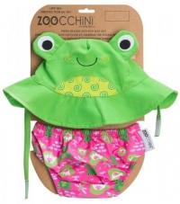 Zoocchini Badewindel & Sonnenhut - Frosch