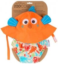 Zoocchini Badewindel & Sonnenhut - Fisch