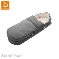 STOKKE Scoot Softbag, Black Melange