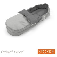 STOKKE Scoot Softbag, Grey Melange