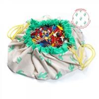 Play&Go Spielzeugtasche, Kaktus *Limited Edition*