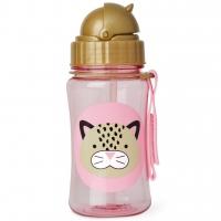 Skip Hop Zoo Strohhalm-Flasche, Leopard