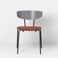 Ferm Living Herman Stuhl mit Sitzkissen - Rust