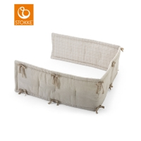 STOKKE Home Bettnestchen, Natural / Beige Checks