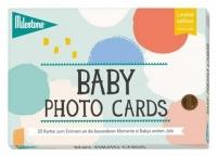 Milestone Baby Karten Candy Cotton, auf Deutsch