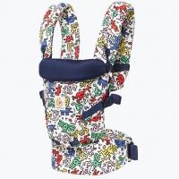 Ergobaby Babytrage Adapt, Special Edition Keith Haring - Pop