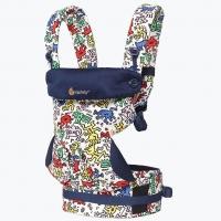 Ergobaby Babytrage 360° 4-Positionen, Special Edition - Keith Haring Pop