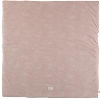 Nobodinoz Baumwollteppich Colorado, White Bubble/ Misty Pink