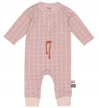 Snoozebaby Strampler, Poppy Red