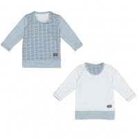 Snoozebaby Pullover, Zweiseitig, Fading Blue