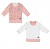 Snoozebaby Pullover, Zweiseitig, Powder Pink