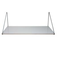 Sebra Schreibtisch aus Holz, Grau