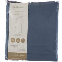 Nobodinoz Vorhang aus Musselin Baumwolle Utopia, Night Blue