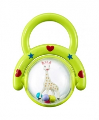 Sophie La Girafe Kugelrassel, grün