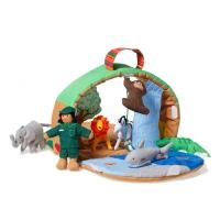 Oskar & Ellen Stoff Spielset Safari