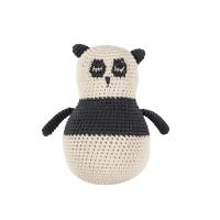 Sebra Häkel-Stehaufmännchen, Panda