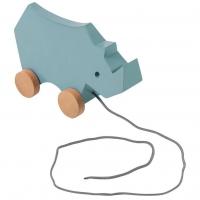 Sebra Nachziehspielzeug, Nashorn, Wolkenblau