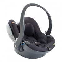 BeSafe iZi Go White Edge i-Size Babyschale, Midnight Black