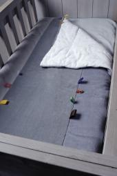 Cot Blanket von Snoozebaby, 150 x 100 cm