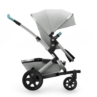 JOOLZ Geo2 Tailor Kinderwagen, Basis Silber, Chassis Silber - Special Set
