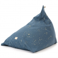 Nobodinoz Sitzsack Essaouira, Gold Stella/ Night Blue