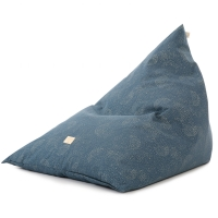Nobodinoz Sitzsack Essaouira, Gold Bubble/ Night Blue