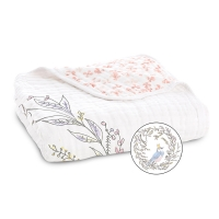Aden Anais Kuscheldecke Dream Blanket - birdsong - noble nest