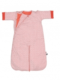 Snoozebaby Schlafsack Four Seasons, Dots Sunset Coral