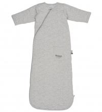 Snoozebaby Schlafsack mit Ärmel, Grau Melange