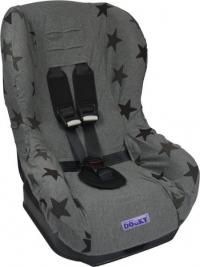 Dooky Kindersitzbezug Gruppe 1 Grey Stars
