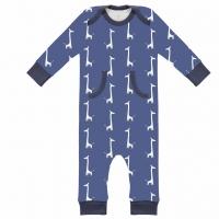 Fresk Babypyjama Bio-Baumwolle, Giraffen