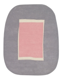 Lorena Canals Kinderteppich aus Wolle, Lake Pink