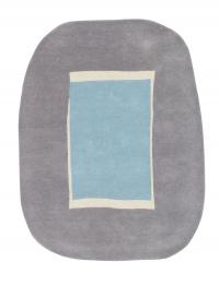Lorena Canals Kinderteppich aus Wolle, Lake Blue
