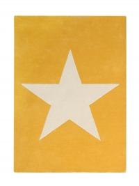 Lorena Canals Kinderteppich aus Wolle, Mustard