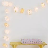 Mimilou Lichterkette Gold