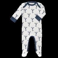 Fresk Babypyjama Bio-Baumwolle, mit Füsschen, Lobster