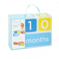Pearhead Baby Age Blocks, Blau