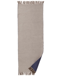 Ferm Living Teppich, Dark Blue, 180 x 70 cm
