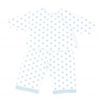 Sugarapple Puppen-Schlafanzug, Sterne Hellblau