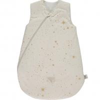 Nobodinoz Schlafsack Cocoon, Gold Stella/ Natural 6-18 Monate