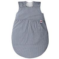 Sugarapple Schlafsack, Wattiert, 50-110 cm, Streifen Dunkelblau