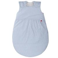 Sugarapple Schlafsack, Wattiert, 50-110 cm, Streifen Hellblau