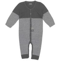 Snoozebaby Strampler, gestrickt - Storm Grey