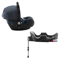 Britax Römer Baby-Safe 2 i-Size inkl. Flex-Base, Blue Marble 2020