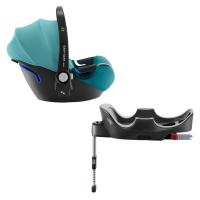 Britax Römer Baby-Safe 2 i-Size inkl. Flex-Base, Lagoon Green 2019