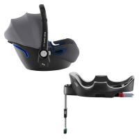 Britax Römer Baby-Safe 2 i-Size inkl. Flex-Base, Storm Grey 2020